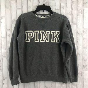 PINK Victoria's Secret Gray Sweatshirt